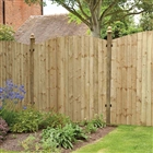 Featheredge Contractor Panel Dome Top 6' x 6' (183cm x 183cm) FSC