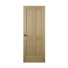 Somerset Oak 4 Panel Door 6'6 x 2'9