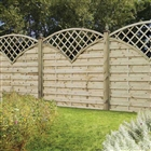 "Europa Finedon Screen 5'11"" x 5'11"" (180cm x 180cm)"