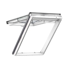 VELUX 780mm x 1400mm White Poly Finish Top Hung Roof Window --60 Pane  GPU MK08 0060R