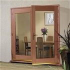 Hardwood 6' La Porte French Door Set (Brass) 1790mm x 2074mm
