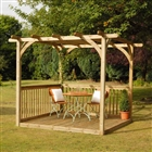 Ultima Pergola Deck Kit 2.4m x 4.8m FSC