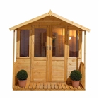 Maplehurst Summerhouse 7' x 7' with Assembly Service FSC