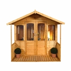 Hollington Summerhouse 8' x 8' with Assembly Service FSC
