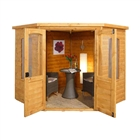 Cranbourne Corner Summerhouse 7' x 7' with Assembly Service