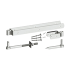 "Gate Ironmongery 12"" Adjustable Field Gate Hinge (Set of 2)"