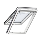 VELUX 780mm x 1180mm White Painted Finish Top Hung Roof Window  GPL MK06 2070