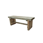 Double Sleeper Bench 1.2m FSC