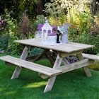 Small Rectangular Picnic Table FSC