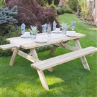 Large Rectangular Picnic Table FSC