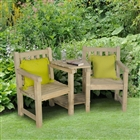 Harvington Love Seat FSC