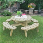 Circular Picnic Table FSC