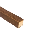 Incised UC4 Brown Treated Fence Post 75mm x 75mm x 2.4m