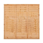 Grange Golden Brown Lap Fence Panel 1.8m